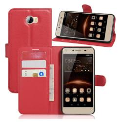 Huawei Y5 II Skinn fodral - Röd