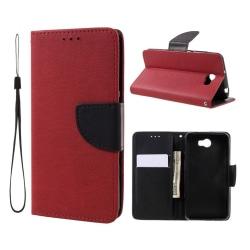 Huawei Y5 II Två färgat fodral - Röd svart