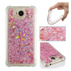 Huawei Y6 (2017)-Y5 (2017) mobilskal silikonmaterial glitter
