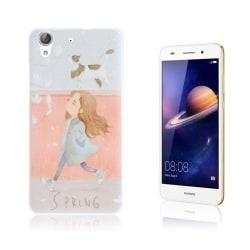 Huawei Y6 II mönster hårdplastskal - Gående flicka