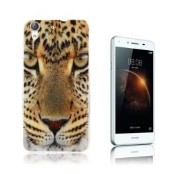 Huawei Y6 II mönster silikonskal - Leopard