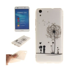 Huawei Y6 II skyddande silikonskal - Förälskat par
