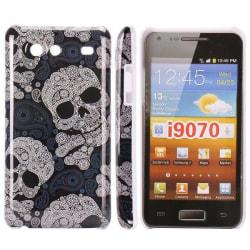 iConic (Stor Dödskalle) Samsung Galaxy S Advance Skal