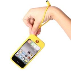 iFunk (Gul) iPhone 4/4S Silikonskal