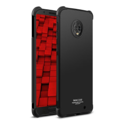 IMAK Motorola Moto G6 Plus mobilskal silikon med skärmskydd