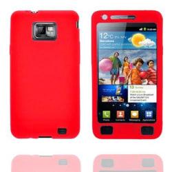Impact (Röd) Samsung Galaxy S2 Silikonskal