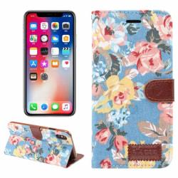 iPhone 9 Plus mobilfodral syntetläder silikon korthållare st