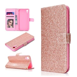 iPhone XS Max mobilfodral silikon syntetläder plånbok ståend