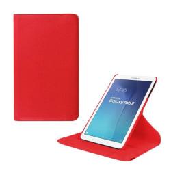 Jessen Samsung Galaxy Tab E 9.6 Roterande Läderfodral med St