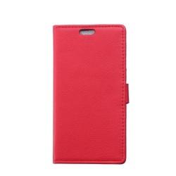 Kierkegaard Sony Xperia E4G Fodral med Plånbok - Röd