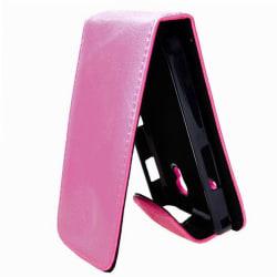 Klassisk Samsung Galaxy Ace Läderfodral (Rosa)