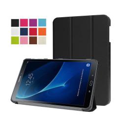 Läderfodral för Samsung Galaxy Tab A 10.1 (2016) - Svart