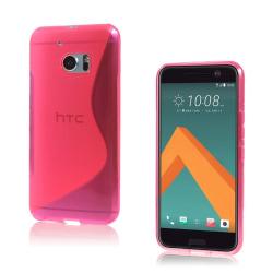 Lagerlöf HTC 10 Plastskal - Varm Rosa