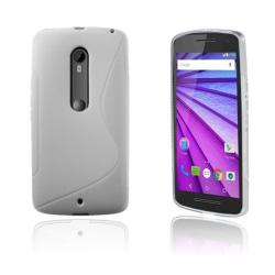 Lagerlöf Motorola Moto X Play Skal - Vit