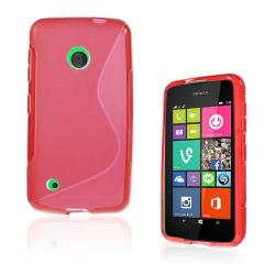 Lagerlöf (Röd) Nokia Lumia 530 Skal