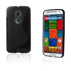 Lagerlöf (Svart) Motorola Moto X2 Skal