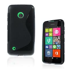 Lagerlöf (Svart) Nokia Lumia 530 Skal