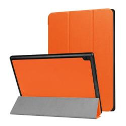 Lenovo Tab 4 10 Enfärgat läder fodral - Orange