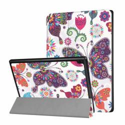 Lenovo Tab 4 10 Fodral med trendigt motiv - Fjärilar