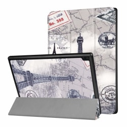 Lenovo Tab 4 Plus 10 Unikt fodral med motiv - Eiffel tornet