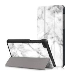 Lenovo Tab 7 Essential Vikbart fodral med unikt motiv - Marm
