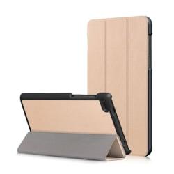 Lenovo Tab 7 Essential Vikbart läder fodral - Guld