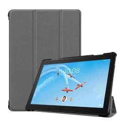 Lenovo Tab P10 stand leather flip case - Grey
