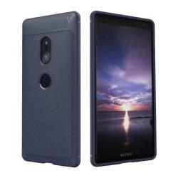 LENUO Sony Xperia XZ2 Snyggt enfärgat skal - Blå