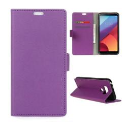 LG G6 plånboksfodral - Lila
