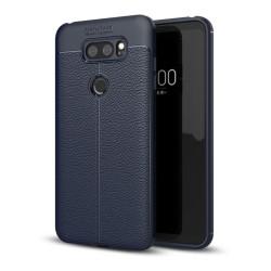 LG V30 Snyggt enfärgat skal - Mörk blå