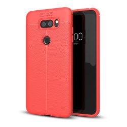 LG V30 Snyggt enfärgat skal - Röd