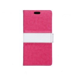 Lie Sony Xperia E4g Fodral med Plånbok - Het Rosa