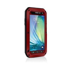 Love Me! Samsung Galaxy A3 Hybrid Skal - Röd