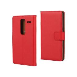 Mankell Läderfodral av Äkta Läder till LG Zero - Röd