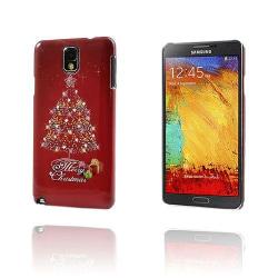 Merry Christmas (Röd) Samsung Galaxy Note 3 Skal