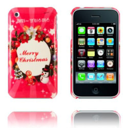 Merry Christmas (Stor Julkrans) iPhone 3GS Skal