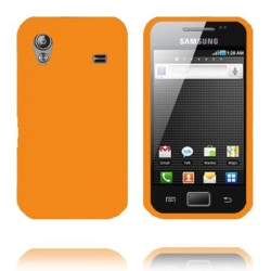 Mjukskal (Orange) Samsung Galaxy Ace Silikonskal