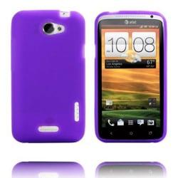 Mjukskal Ver. II (Lila) HTC One X Skal