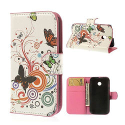 Moberg (Fjärilar & Cirklar) Motorola Moto E Fodral