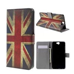 Moberg HTC One A9 Fodral - Vintage Brittiska Flaggan