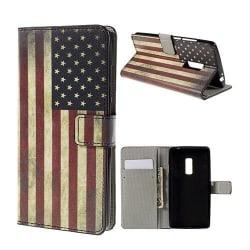 Moberg Oneplus 2 Fodral - USA Flagga