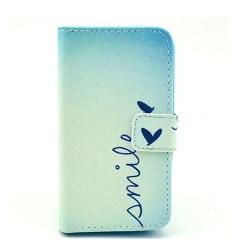 Moberg Plånboks Läderfodral för Huawei Ascend Y330 - Love He