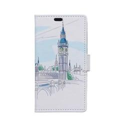 Moberg Sony Xperia E4G Fodral med Plånbok - London Big Ben