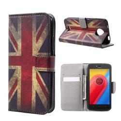 Motorola Moto C Fodral med unikt motiv - UK flagga