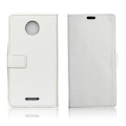 Motorola Moto C Plus Enfärgat fodral med magnetiskt lås - Vi