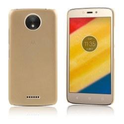 Motorola Moto C Plus Enkelt enfärgat fodral - Guld