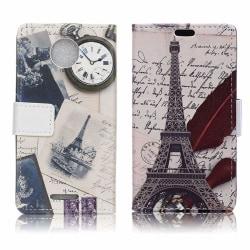 Motorola Moto C Plus Fodral med unikt motiv - Eiffel tornet