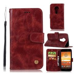 Motorola Moto E5/Moto G6 Play mobilfodral PU läder stående l