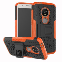 Motorola Moto E5 Play mobilskal plast silikon utfällbart ben