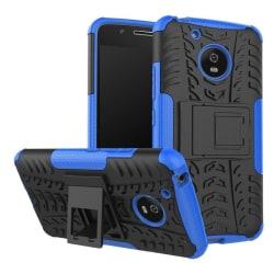 Motorola Moto G5 Hybird skal med däck mönster - Blå